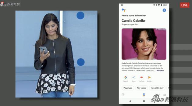 谷歌助手不仅是个语音助手,还对带屏幕的设备进行了优化