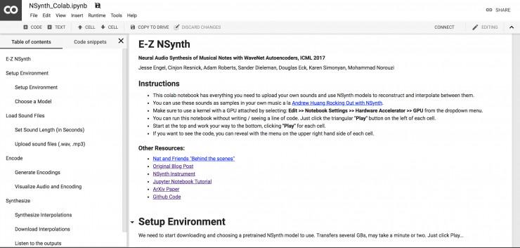 用机器学习搞技术,谷歌 Megenta 项目集锦(附 Github)